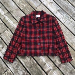 Vintage Louben Petite Wool  Blazer Jacket